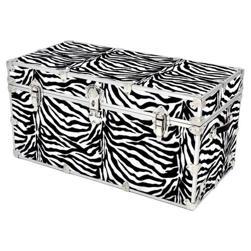 """Rhino Jumbo Zebra Trunk - 40"""" x 22"""" x 20"""" - Front View"""