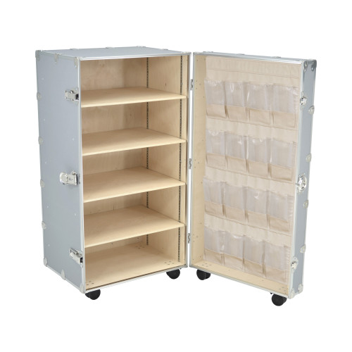 Rhino Mobile Office Wardrobe 60""