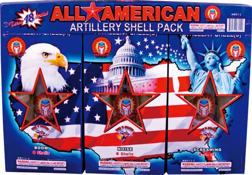 ALL AMERICAN ART. SHELL PACK
