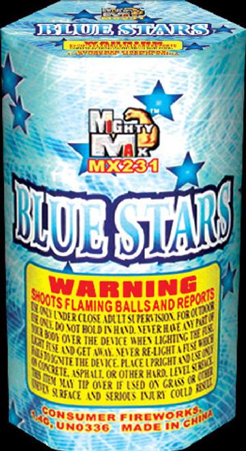 BLUE STARS W/ REPORT 7 SHOT