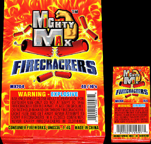 "1-1/2"" MIGHTY MAX FIRECCRACKERS"