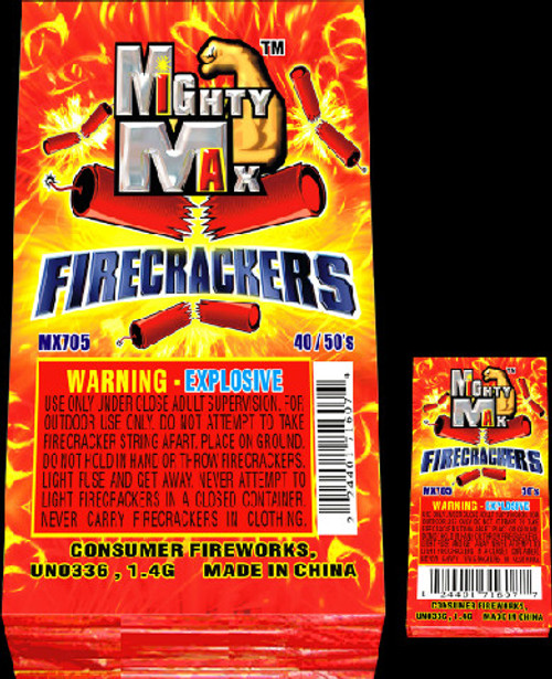 "1-1/2"" MIGHTY MAX FIRECRACKERS"