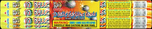 10 BALLS CRACKLING CANDLE