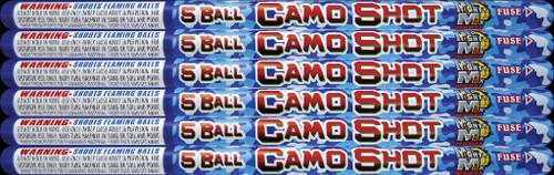 5 BALL CAMO SHOT
