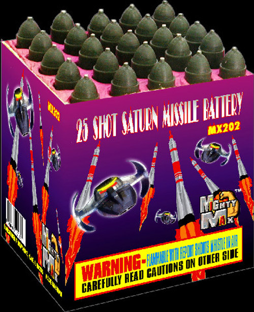 25 SHOTS SATURN MISSILE BATTERY