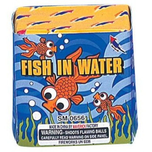 FISH IN WATER 9 SHOTS