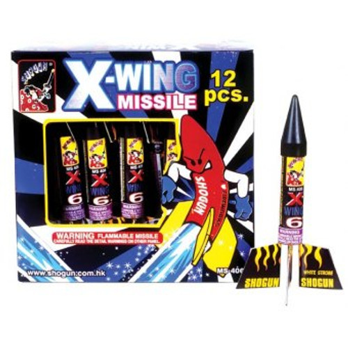 X-WING 6 MISSILE  6-1/2""