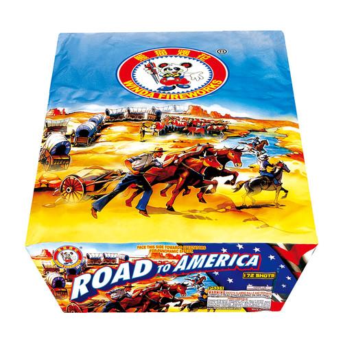 ROAD TO AMERICA - 172 SHOTS