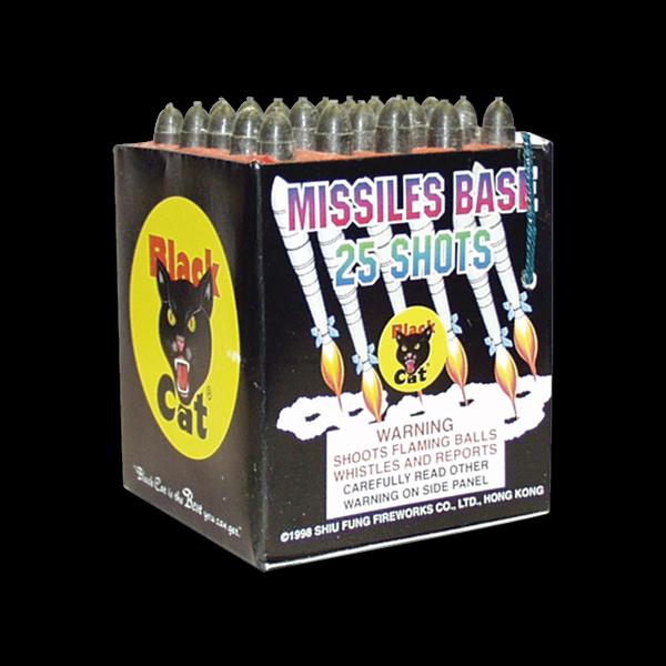MISSILE BASE 25'S