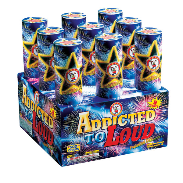 ADDICTED TO LOUD- 9 SHOTS
