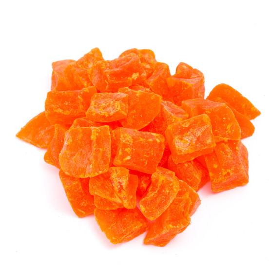 Papaya Chunks Dehydrate