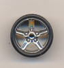 IROC Camaro Wheels & Tires (2 pair) 1/24