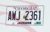 Georgia License Plates, Current 1/25