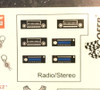 Engine, Under the Hood, Interior Decal Sheet,  1/25