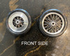 Dragster Wire Wheels with Light Shield 1/25