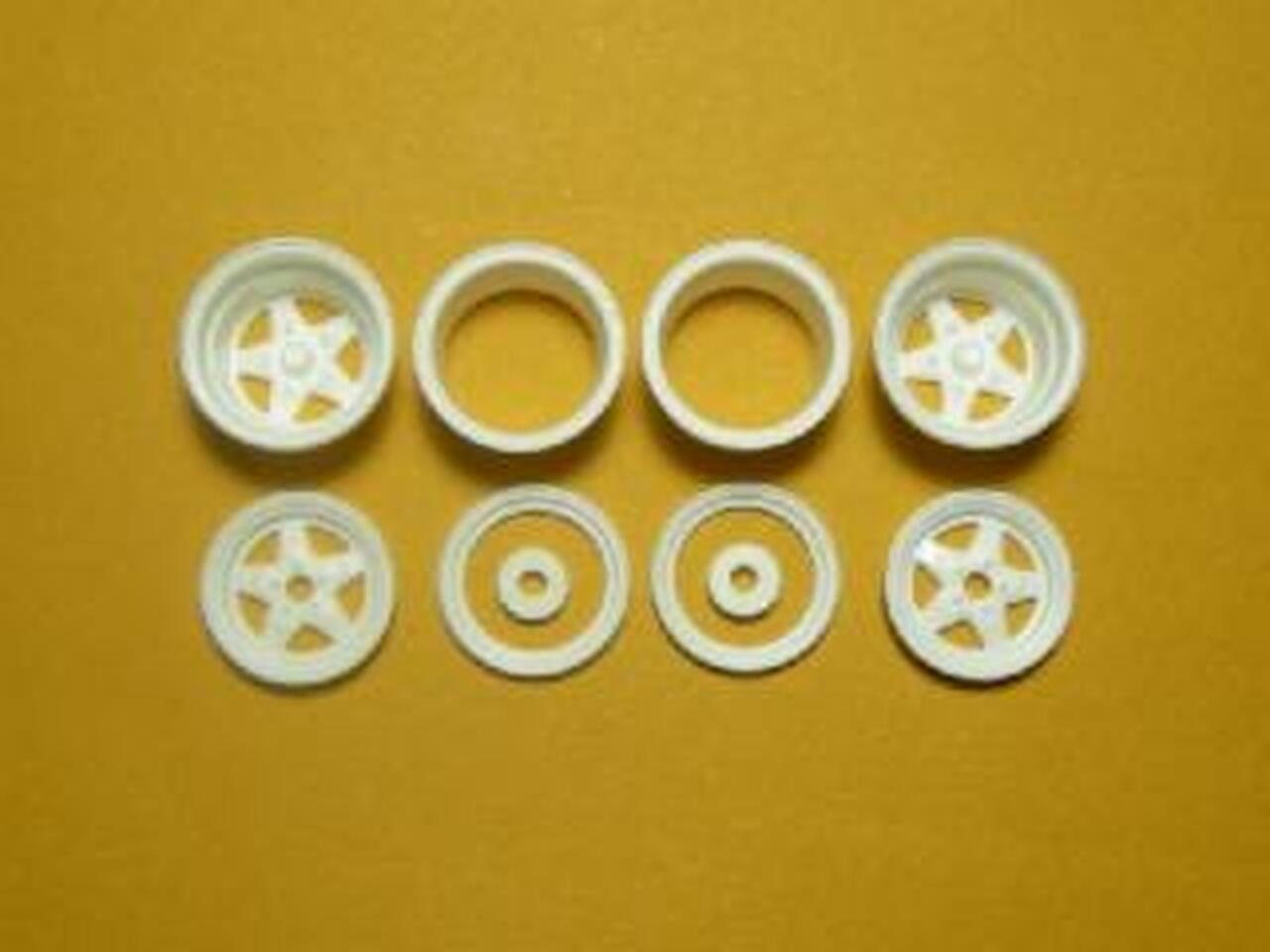 Cragar DragStar Wheels 4-Set 1/25
