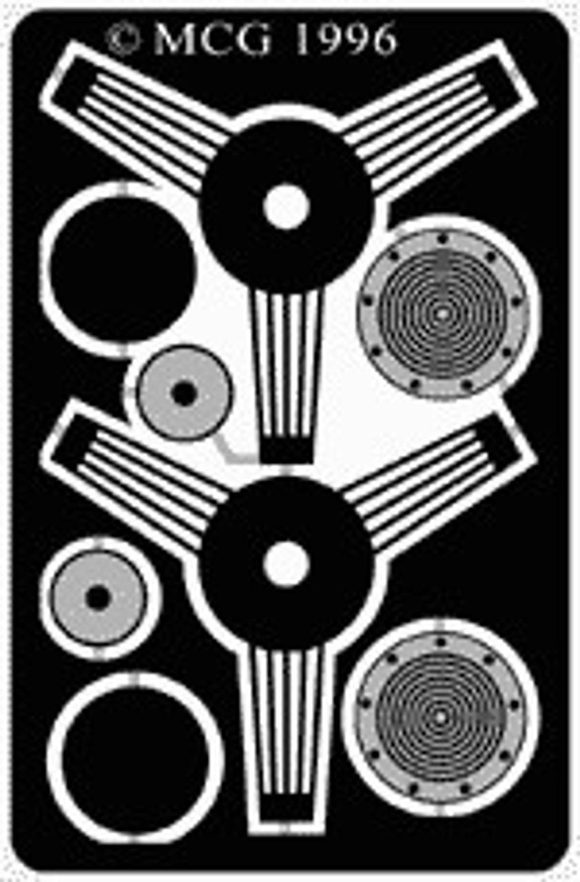 Steering Wheel - Banjo, Straight 1/25