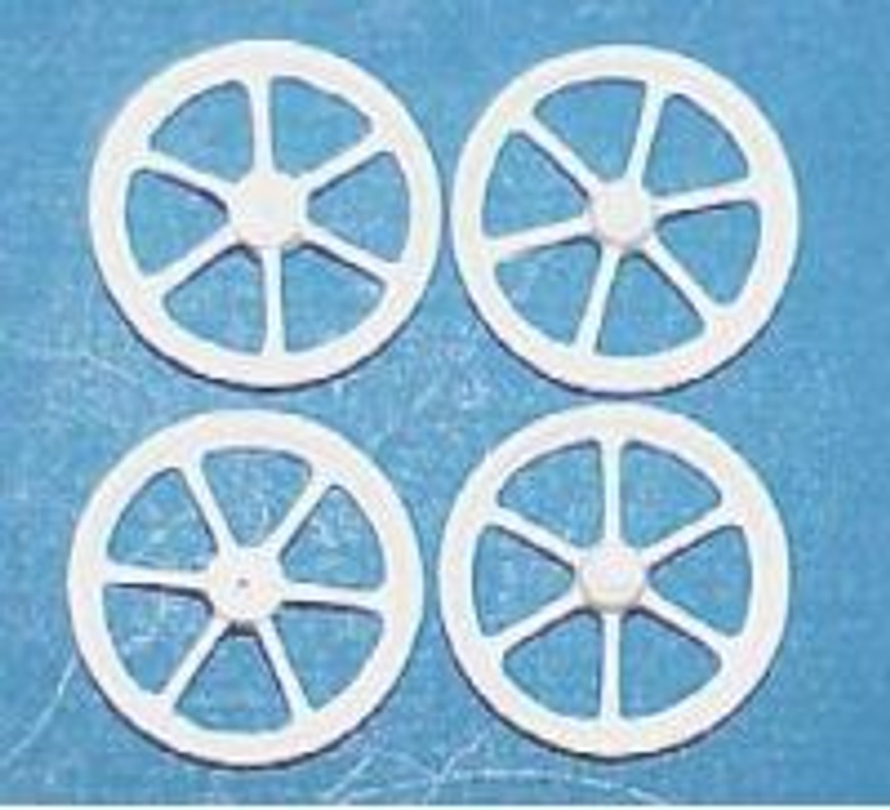 12-Spoke Front Wheels 1/25