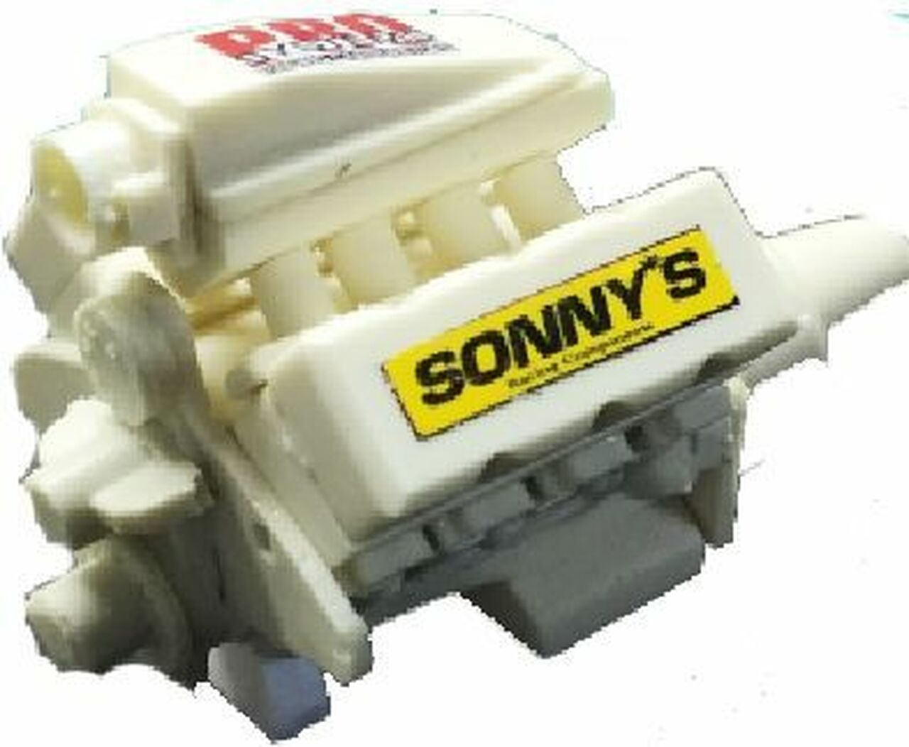 Sonny's 932 BB Tunnel Ram Engine 1/25