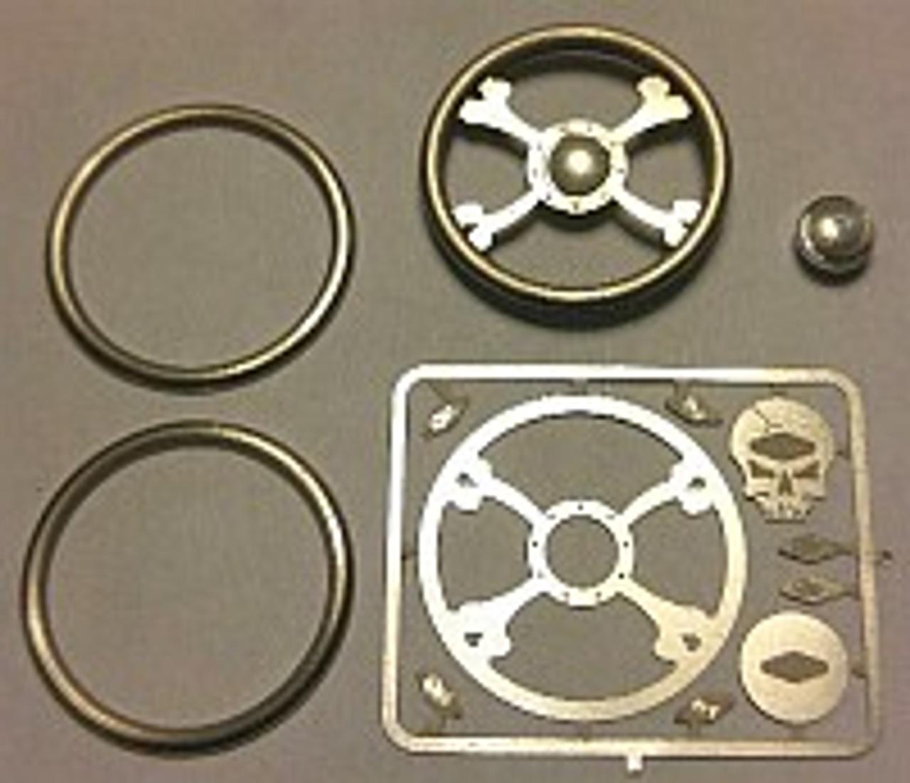 Toxic Skull Steering Wheel 1/24-1/25