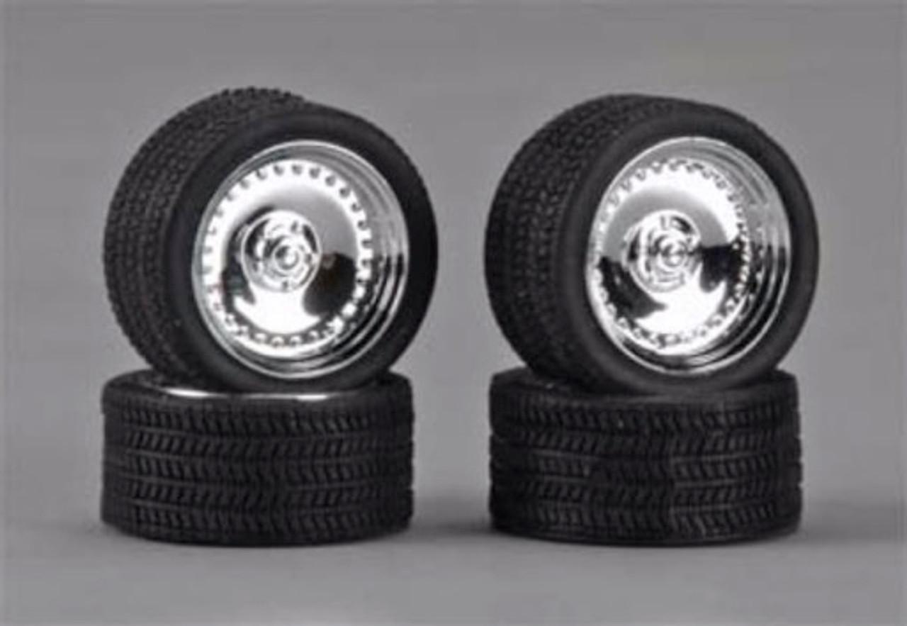 """CL's 19"""" Wheels & Tires 4-Set 1/24"""
