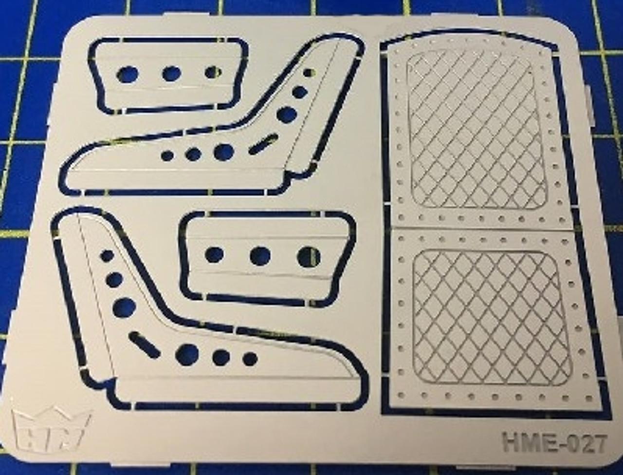 Bomber Seats (2) Set #1 1/25
