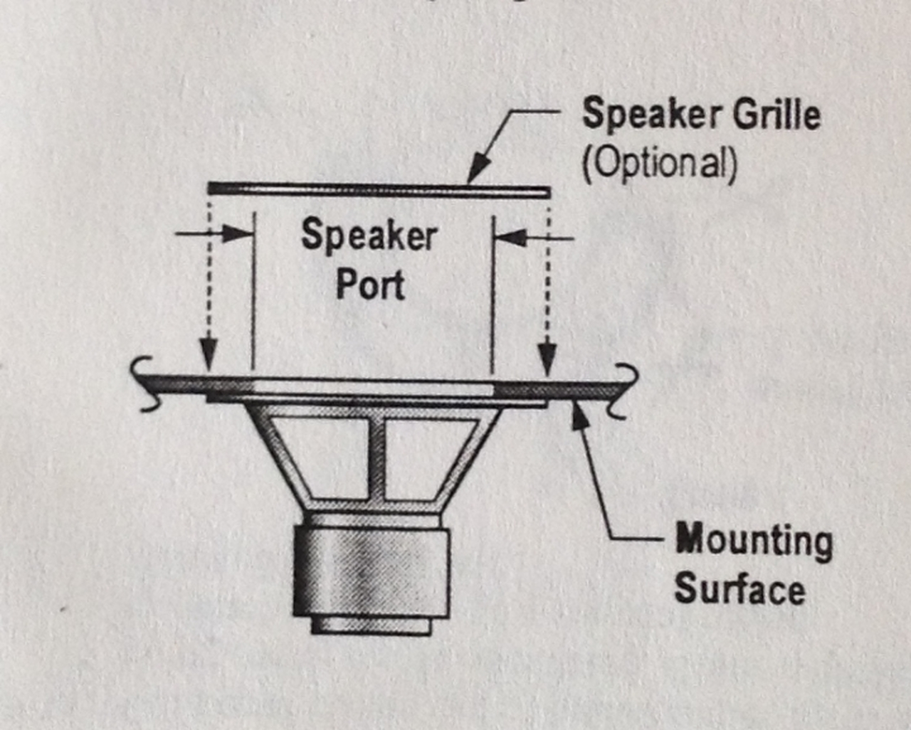Sub Woofer Speaker, 1/25