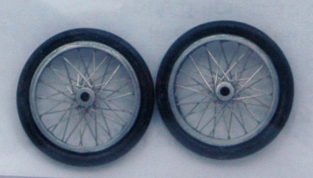 Dragster Wire Wheels 1/25