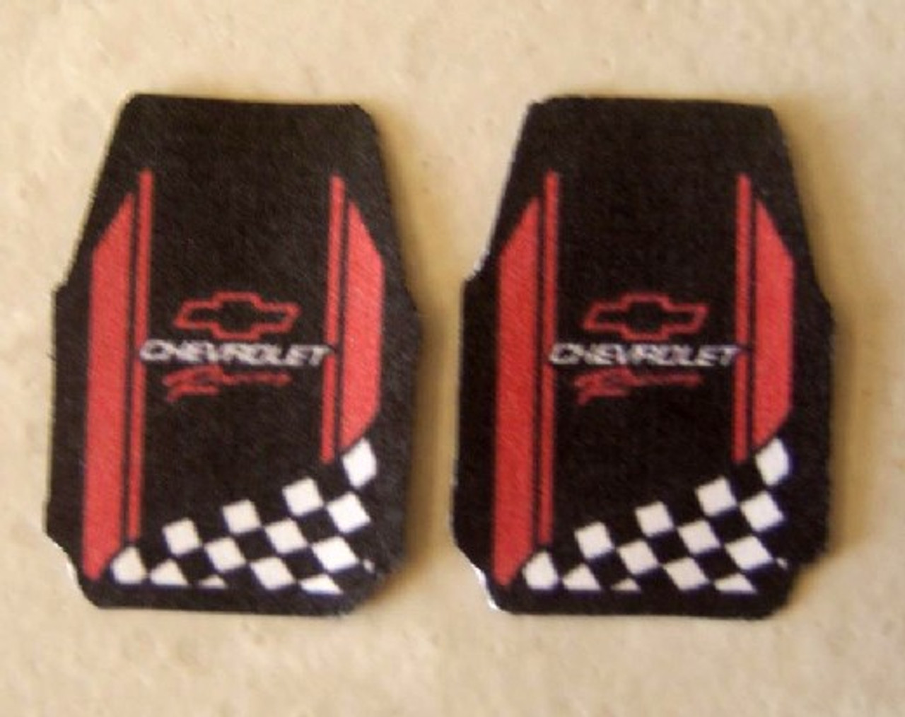 Floor Mats, Chevy Racing/Performance, 1/25