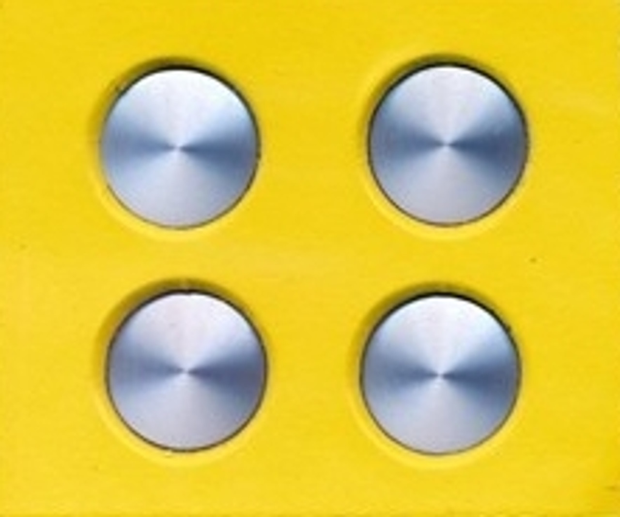 "Salt Lake Style Moon Wheel Covers 15"" 1/25"