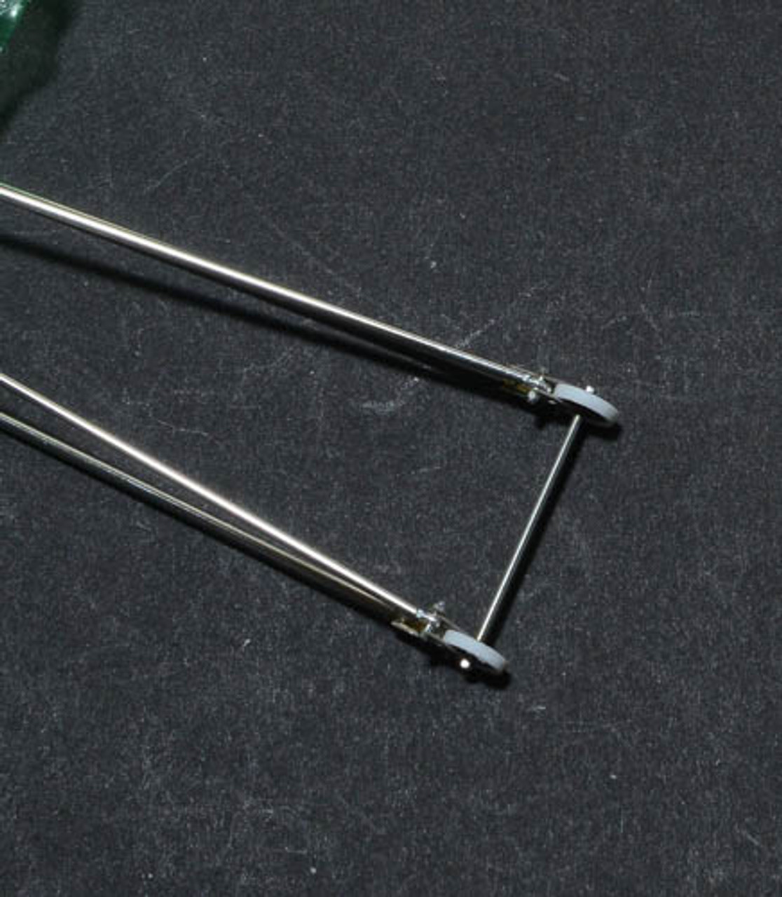 Wheelie Bar-Double & Red Wheel Assembly 1/24