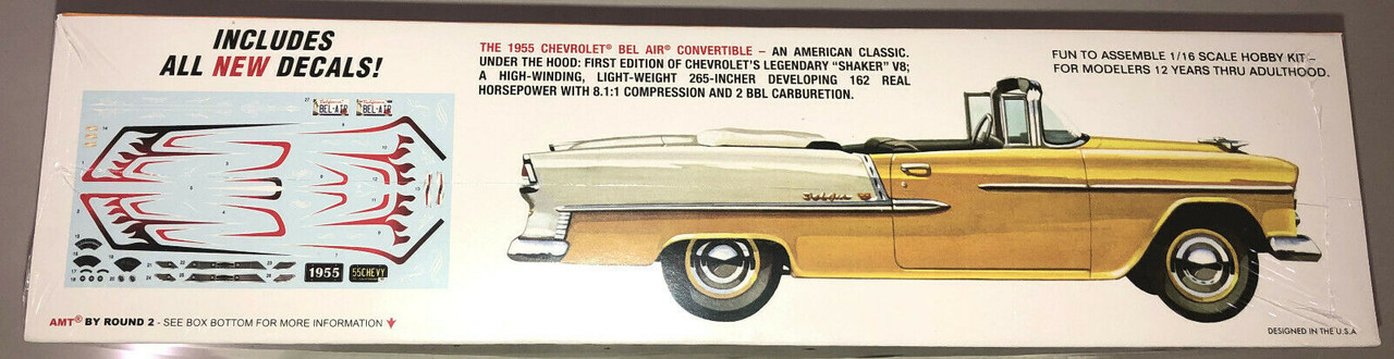 Chevy Bel Air Convertible 1/16