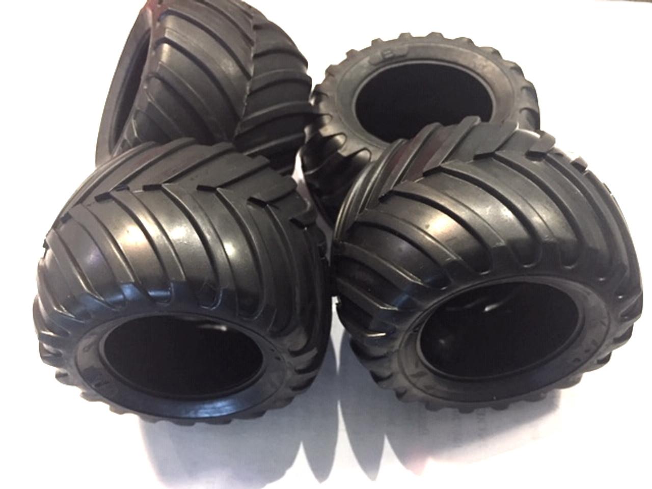 Monster Truck Tire 4-Set 1/25