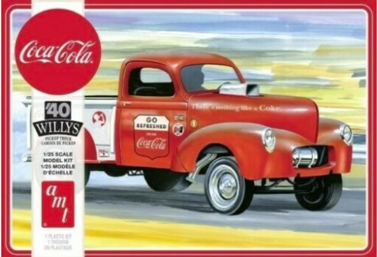 1940 Willys Gasser Coca-Cola Pickup 1/25