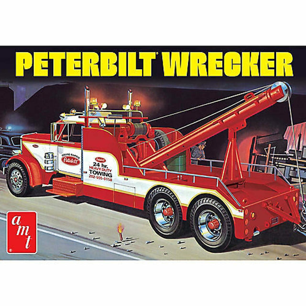Peterbilt 359 Wrecker Truck 1/25