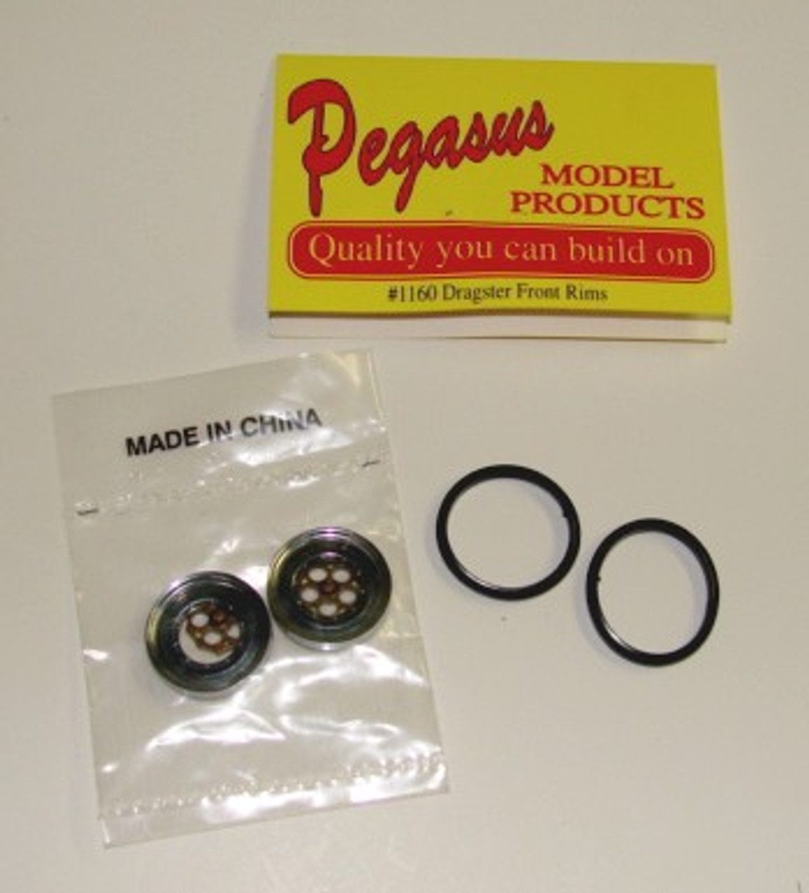Dragster Front Wheels  1/24-1/25