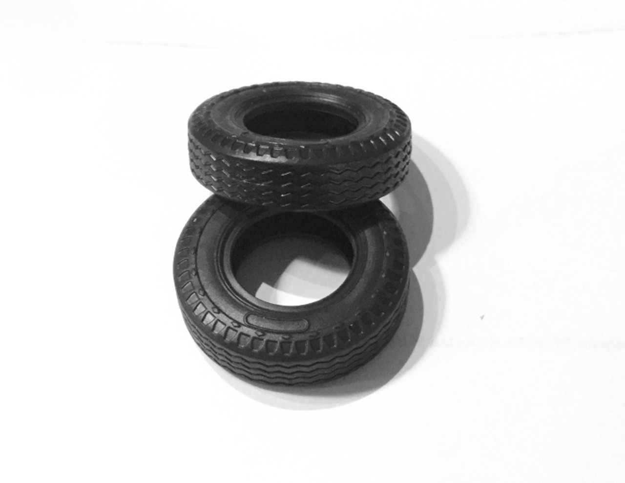 Truck or Rat Rod Large Tires, 1/25