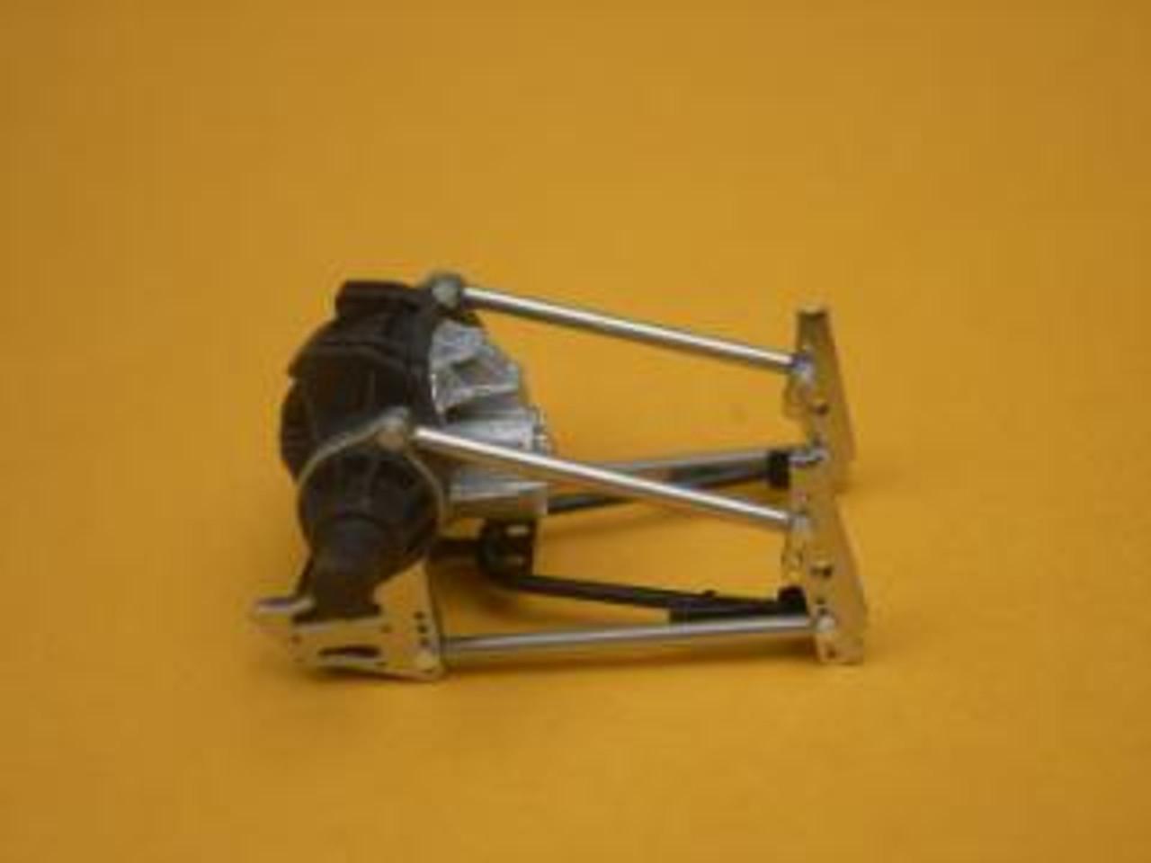 Black Resin Strange Ultra Rear End  & Brake Kit 1/25