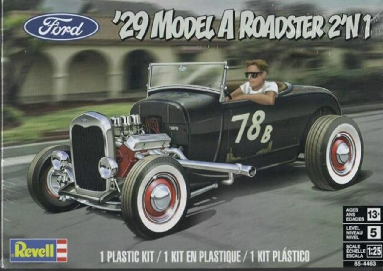1929 Model A Roadster 2-in-1, 1/25