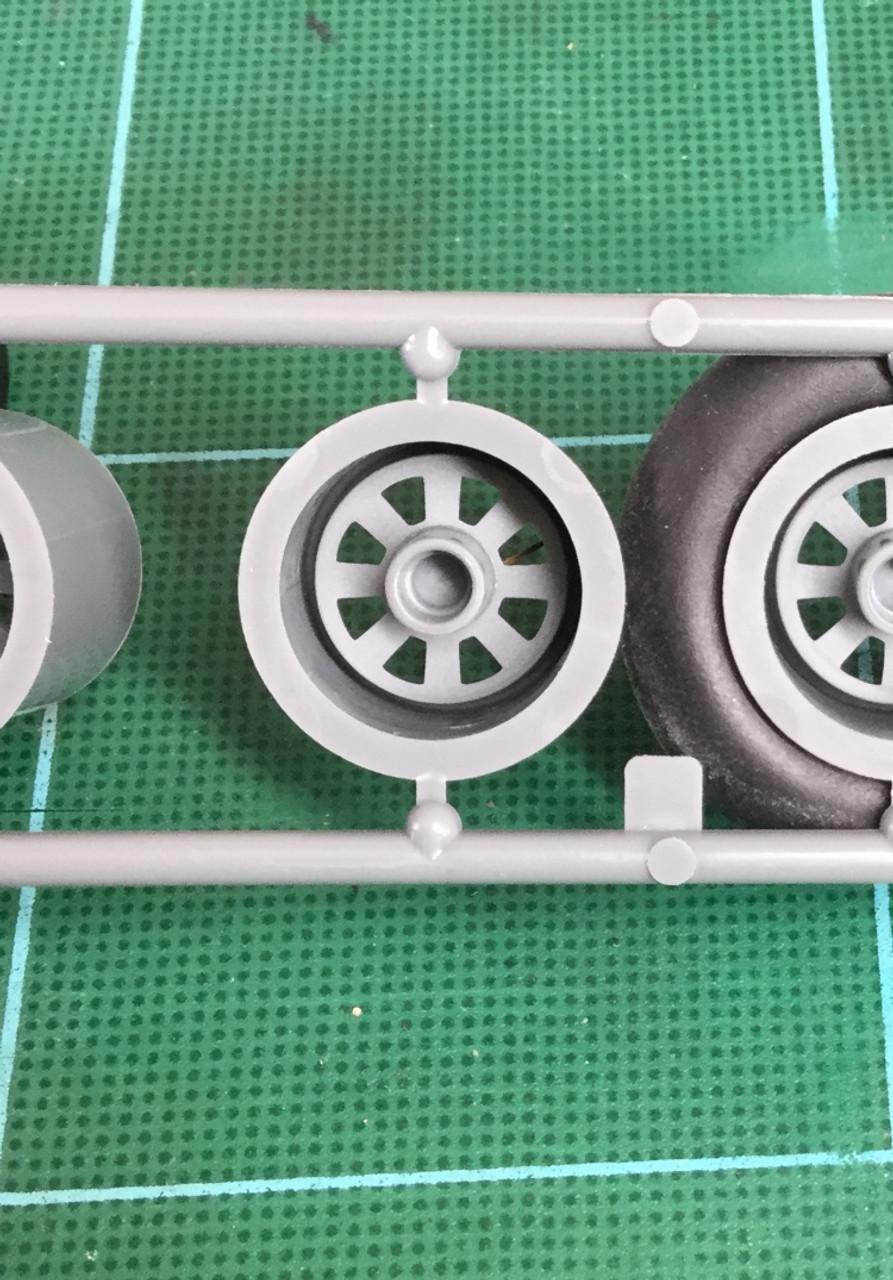 8-Spoke Wheel Set, 1/24