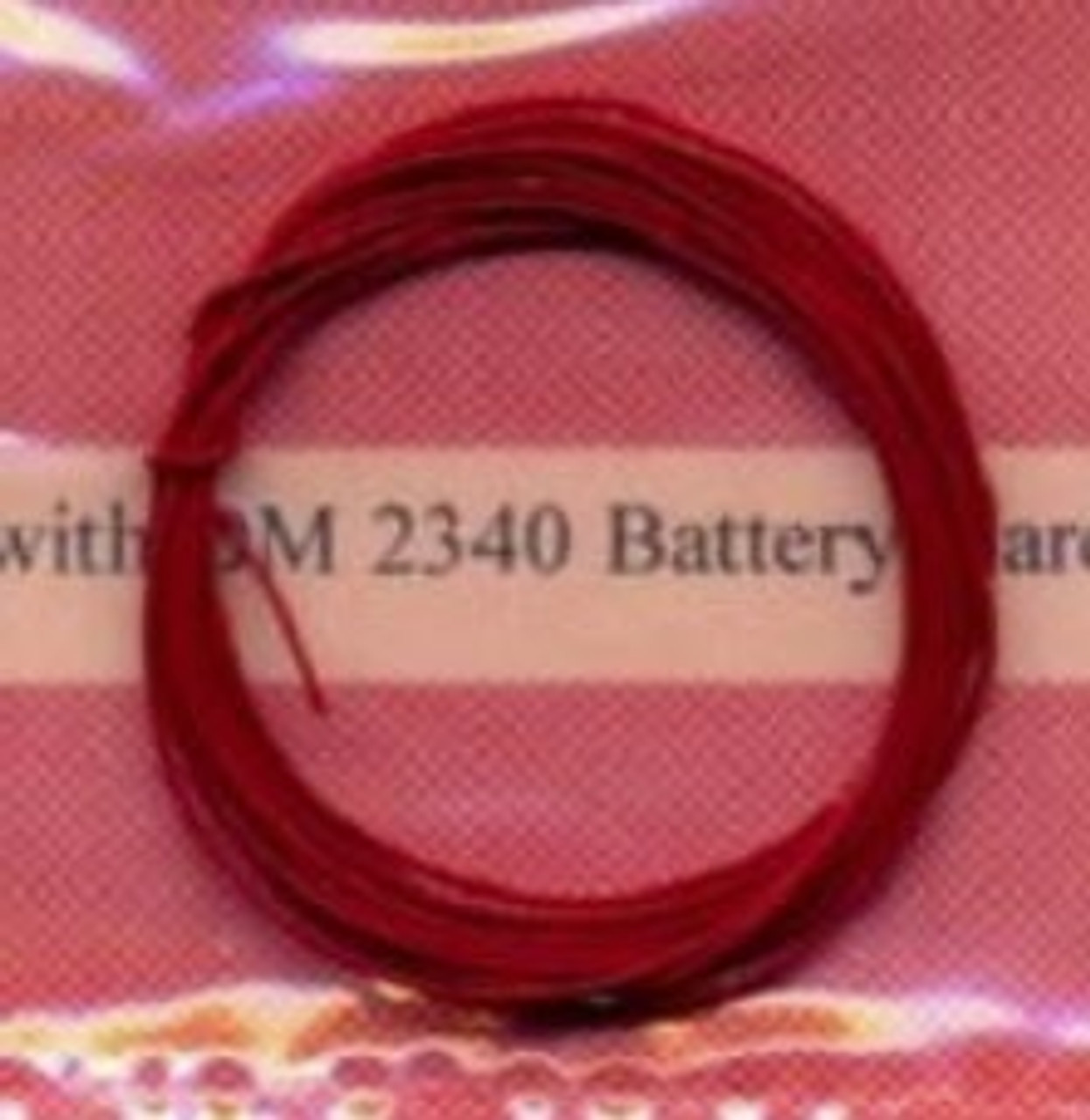 Battery Cable, Red1/24-1/25