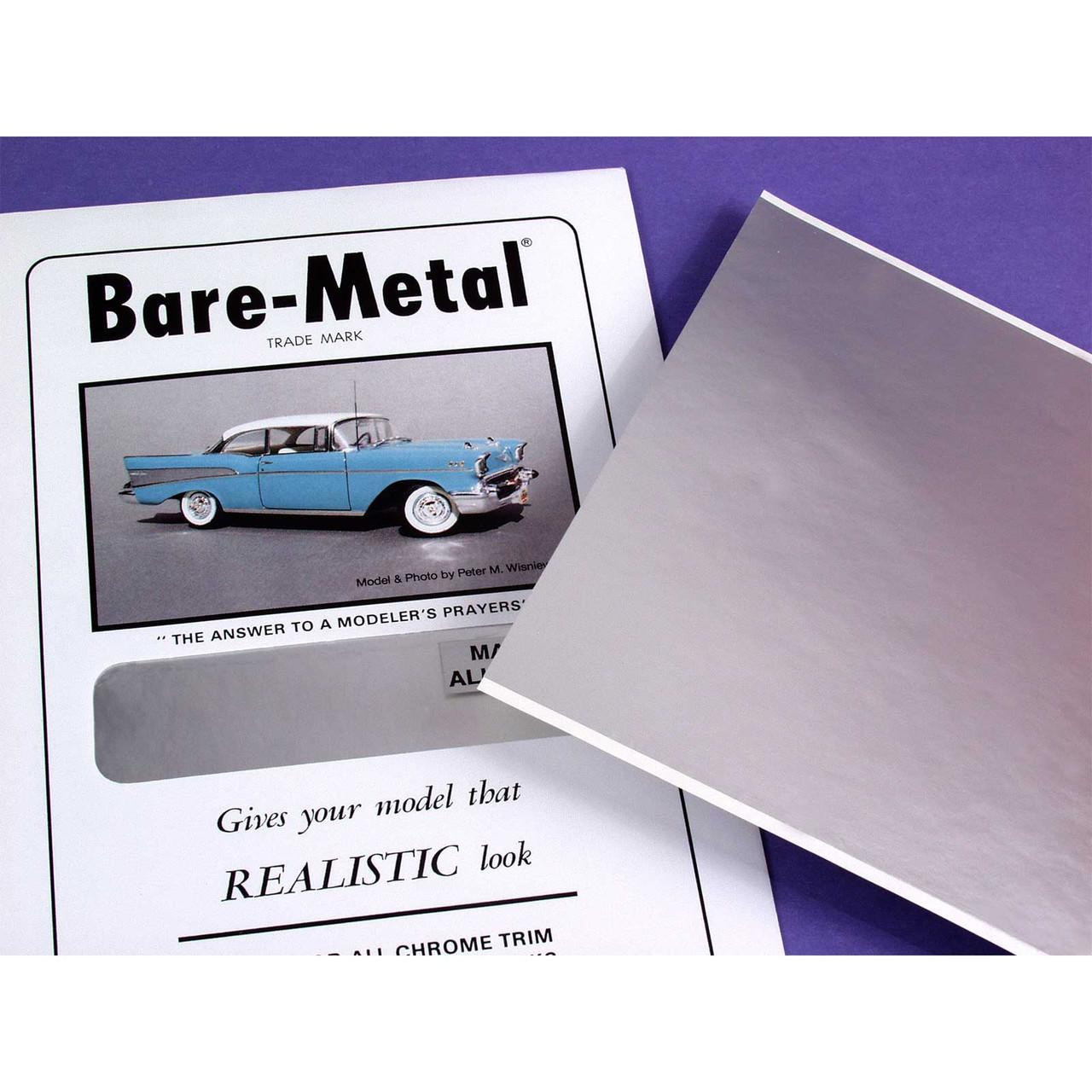 Bare Metal Foil, Ultra Bright Chrome, Half Sheet