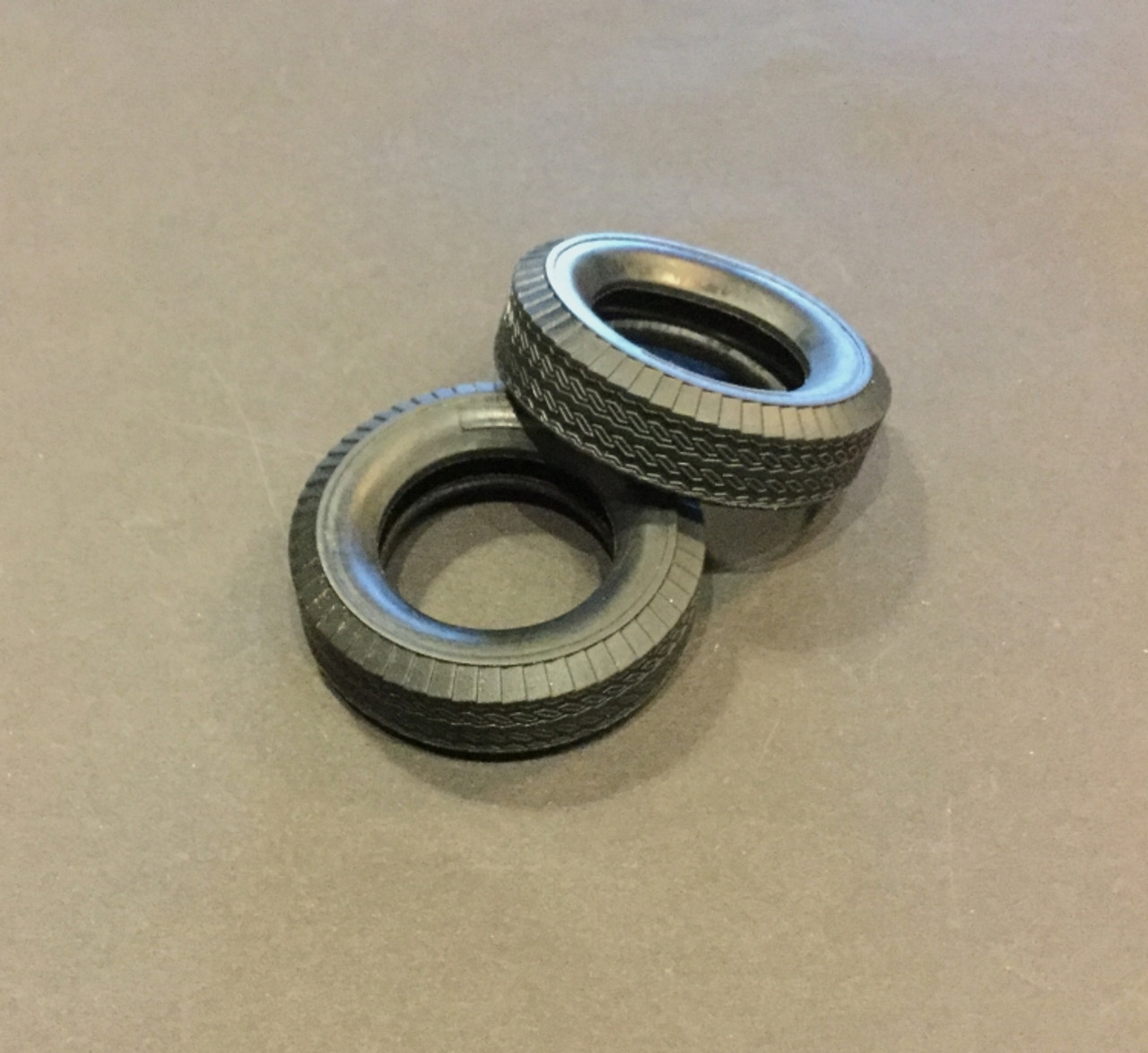Tall & Narrow Truck or Rat Rod Large Tires, 1/25
