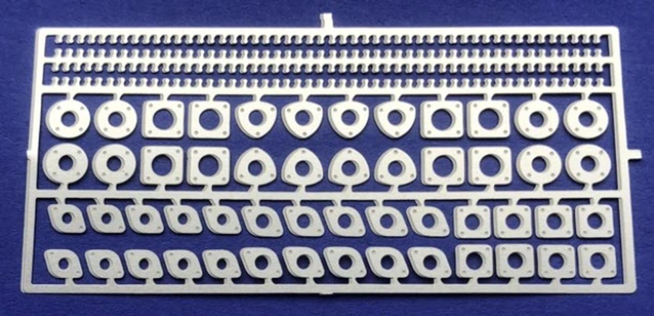Header and Exhaust Flange Set - Large, 1/24-1/25