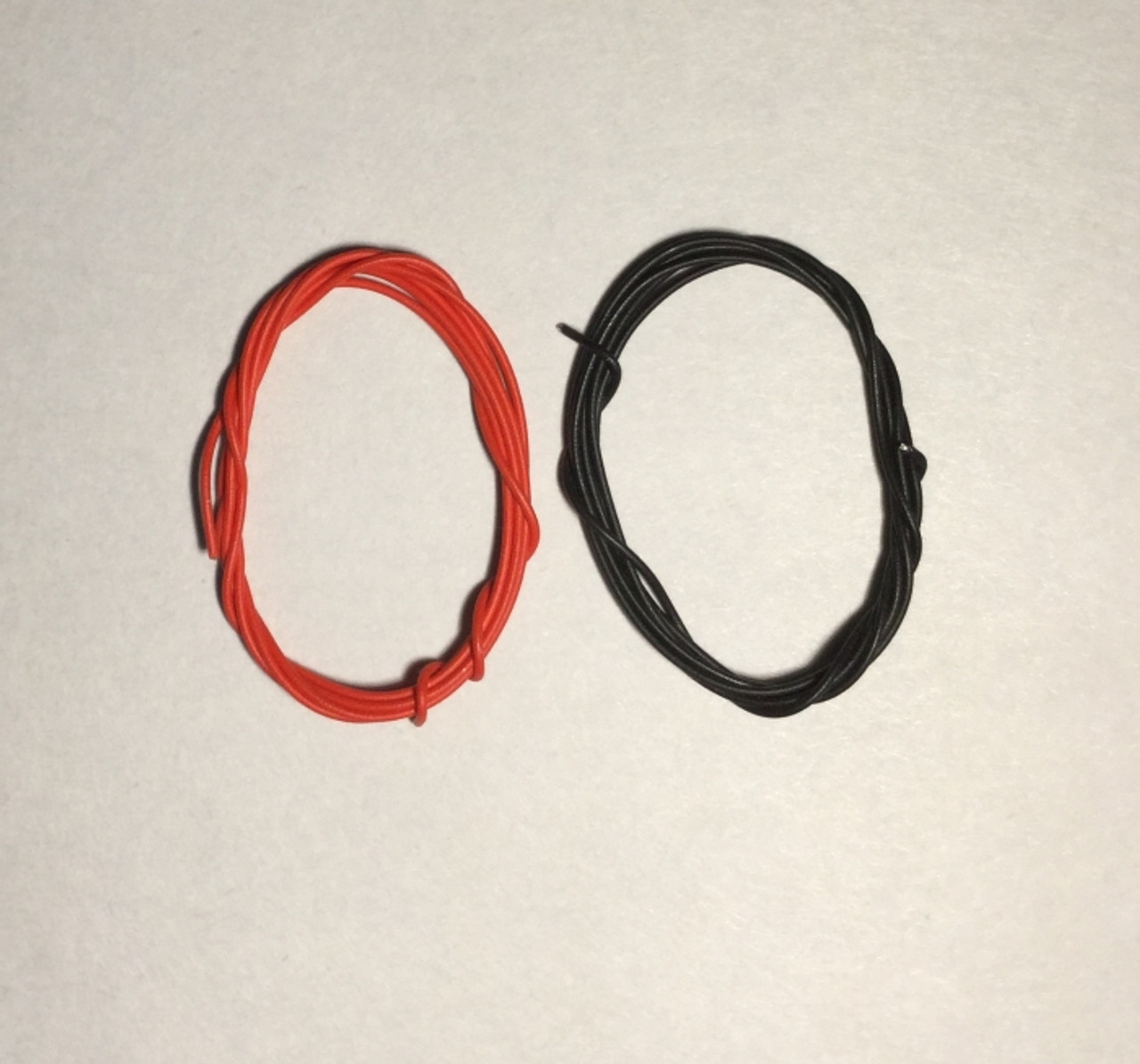 Battery Cables or Electrical Lines, Red and Black .030""