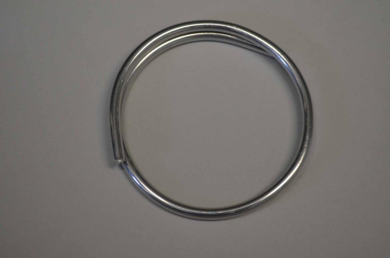 Aluminum Hard Line .160, 4.1mm Dia