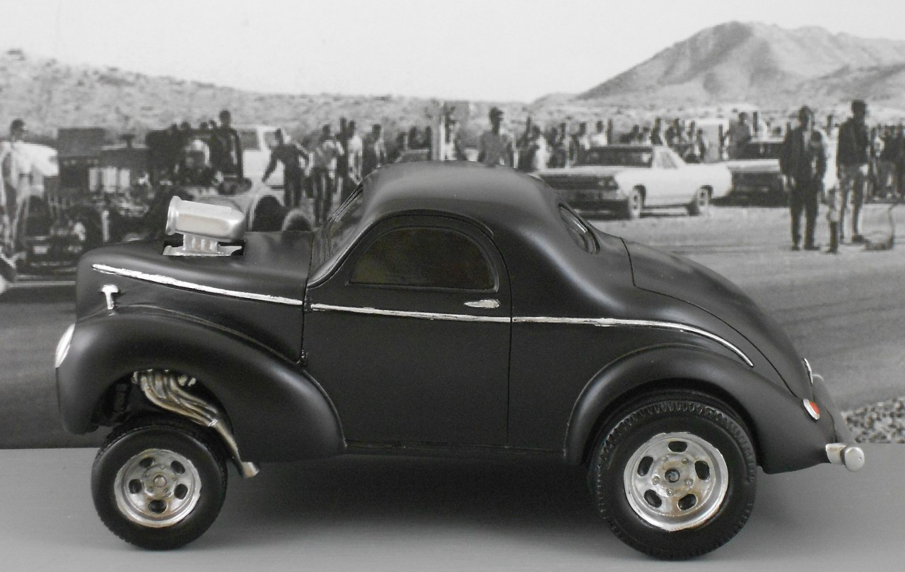 1940 Willys Gasser 1/18 Scale (Choose Color)