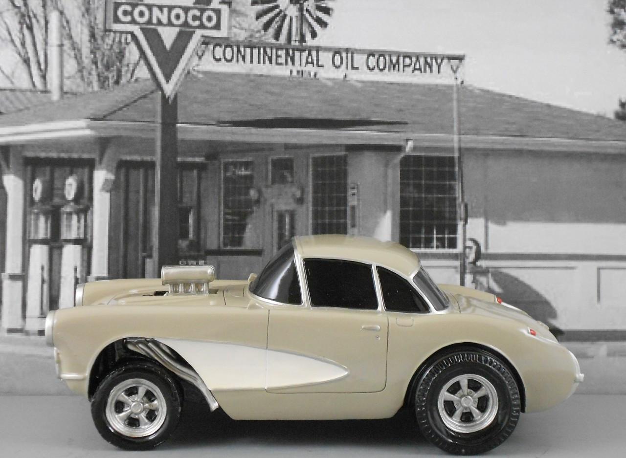 1957 Corvette Gasser 1/18 Scale (Choose Color)