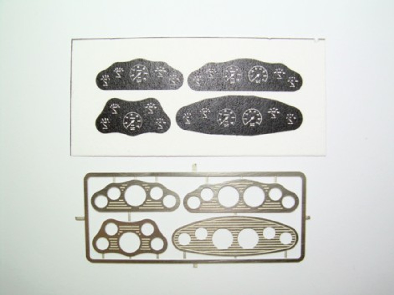 Street Rod Gauges Set #1, Black 1/25