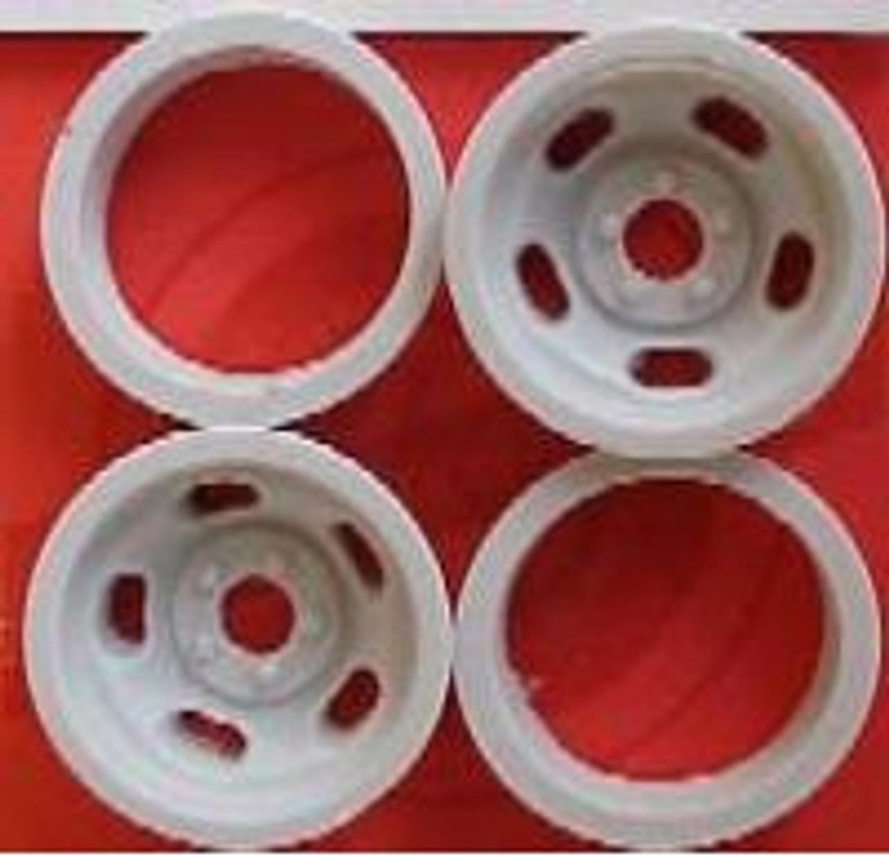 5-Slot Rear Wheels 1/16